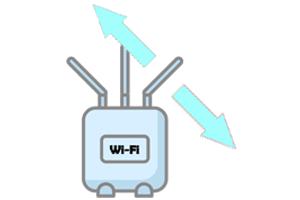 Wi-Fiの電波が飛ぶ方向