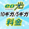 eo光10ギガ/5ギガの料金