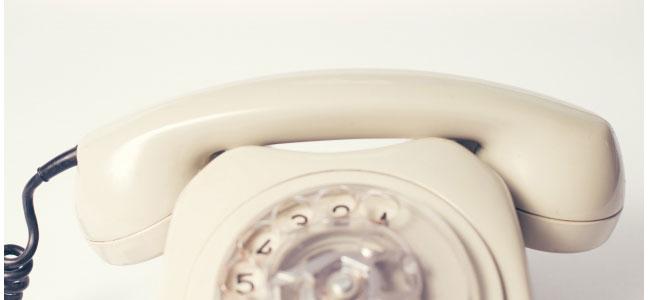電話番号が消える可能性あり