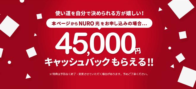NURO光公式特設ページ